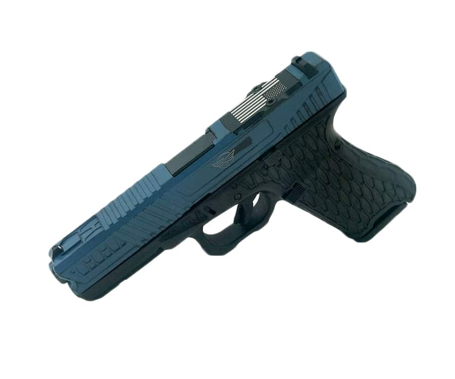 Glock 17 & 22 with cerakote coating (solid color) - Cline Tactical